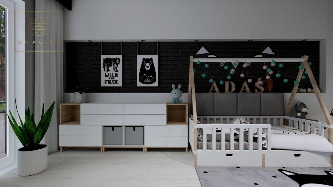 Nowoczesne projekty pokoju dla chłopca