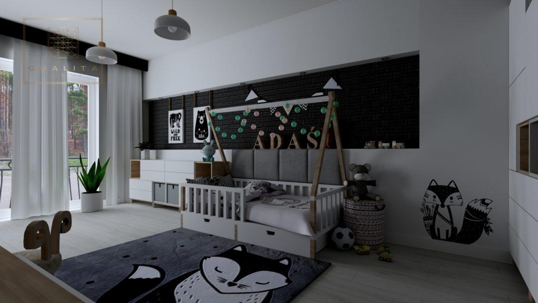 Nowoczesne projekty pokoju dziecka