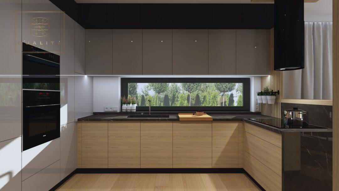 Nowoczesne projekty kuchni z oknem