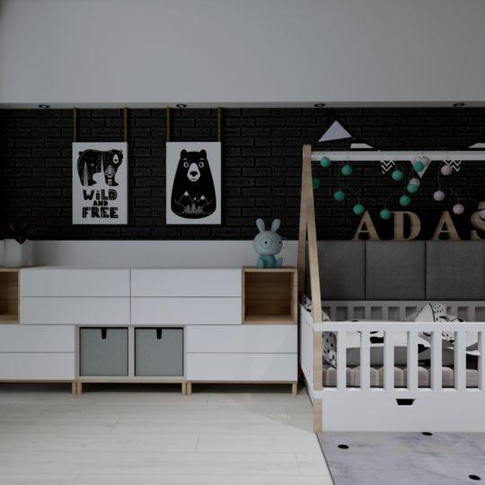 Projekt pokoju chłopięcego