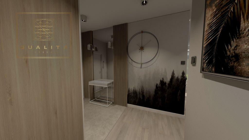 Qualita_Interno_projekt_holu_korytarza_online