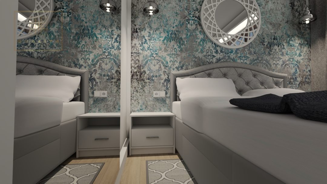 Pomysły i aranżacje małej sypialni