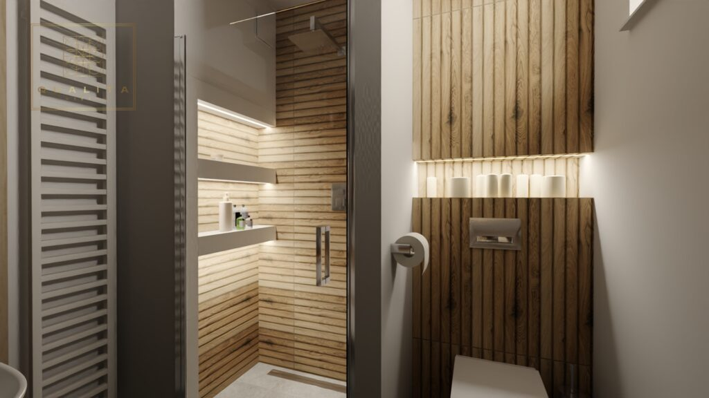 Qualita_Interno_projekt_nowoczesnej_łazienki_z_drewnem