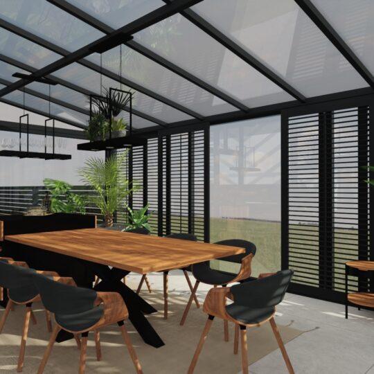 Qualita_Interno_Tani i nowoczesny ogrod_zimowy