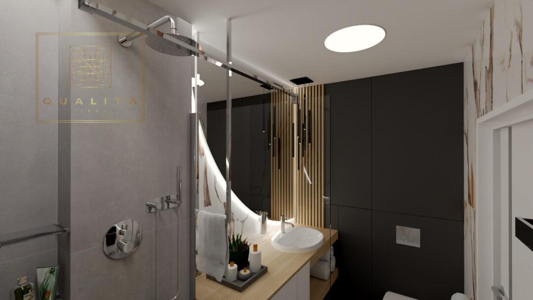 Qualita_Interno_wieszak_sufitowy_w_łazience