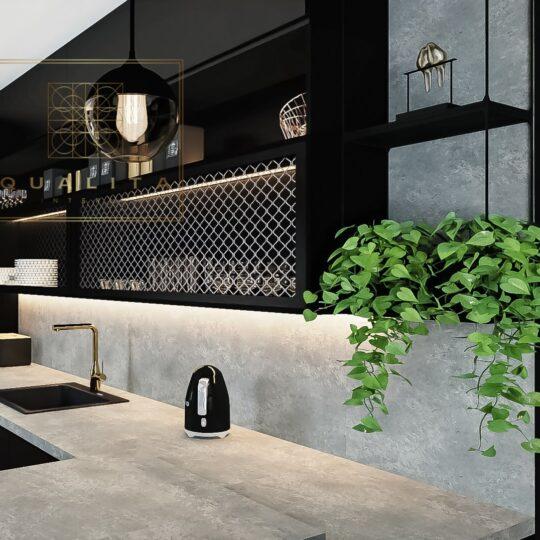 Qualita_Interno_czarna_matowa_kuchnia_z_betonem