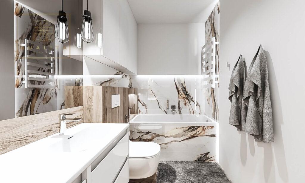 Qualita_Interno_Projekt_wąskiej_długiej_łazienki_online