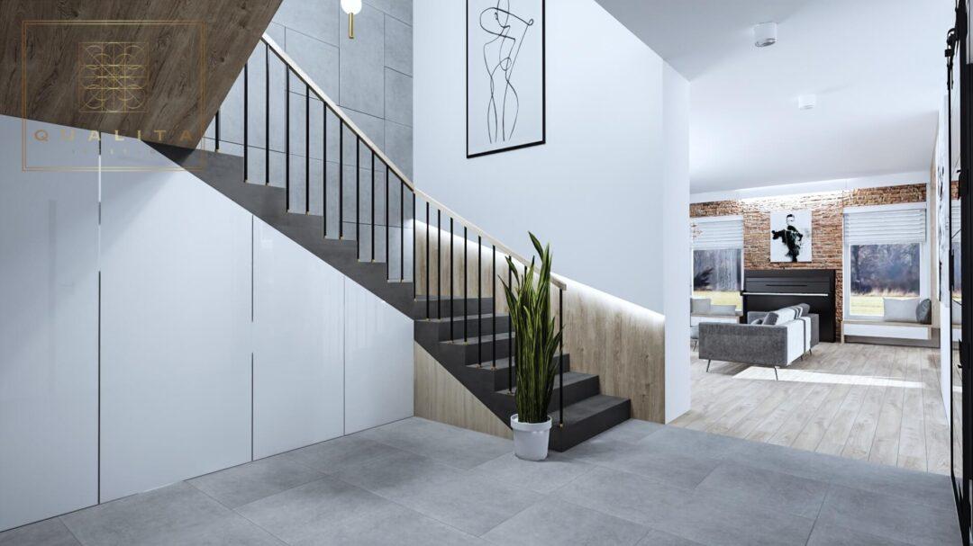 Qualita_Interno_jak_zabudować_szafę_pod_schodami