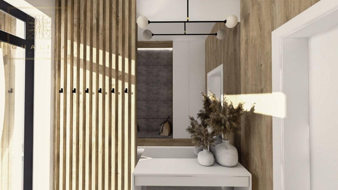 Qualita_Interno_lamele_drewnianie_w_korytarzu_holu