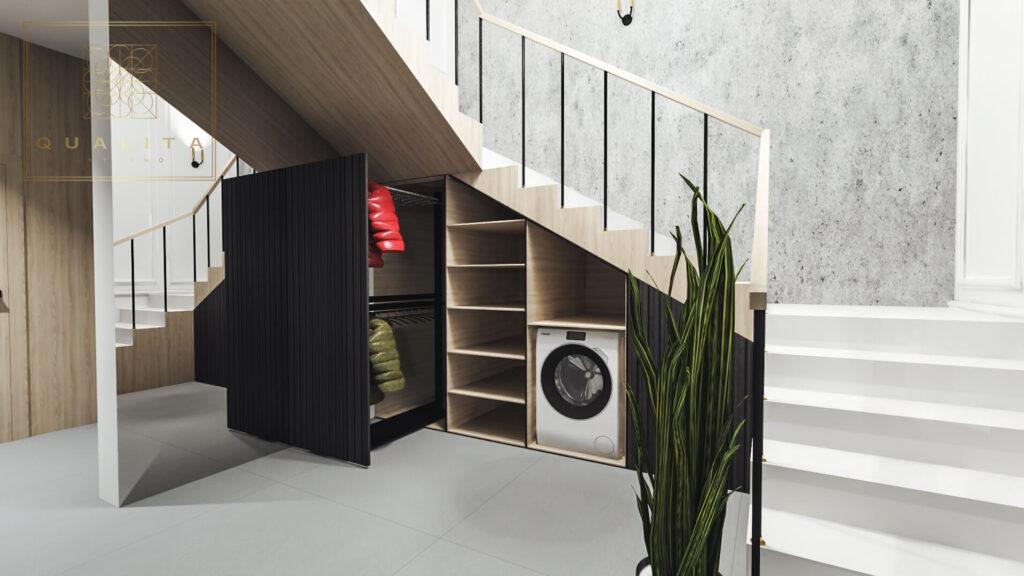 Qualita_Interno_szafa_zabudwana_pod_schodami