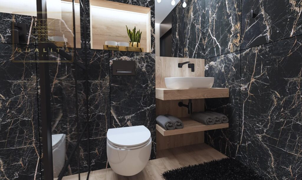 Qualita_Interno_aranżacja_małej_łazienki_hotelowej