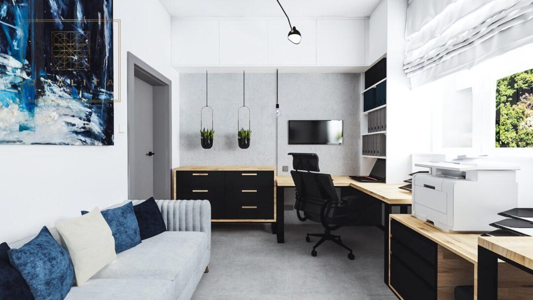 Qualita_Interno_jak_zaprojektować_biuro_lokal_dla_dwojga_w_małym_pomieszczeniu