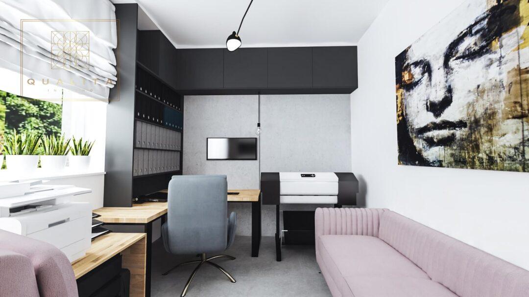 Qualita_Interno_nowoczesne_biuro_dla_dwóch_osób_w_mieszkaniu