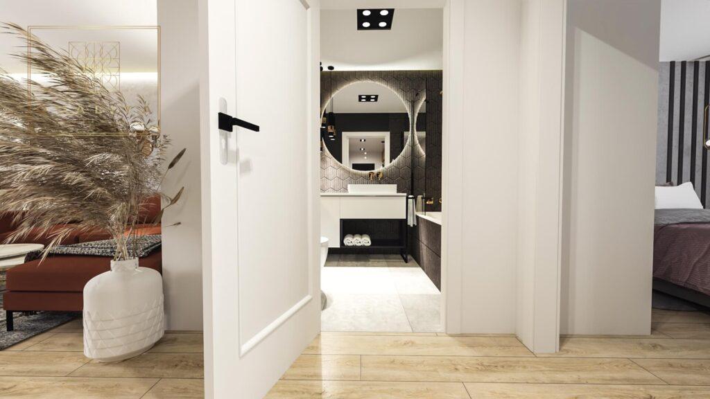 Qualita_Interno_projekt_łazienki_online_czarne_płytki_w_łazience