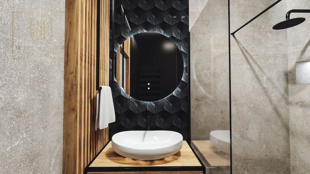 nowoczesne_projekty_wnętrza_małej_łazienki