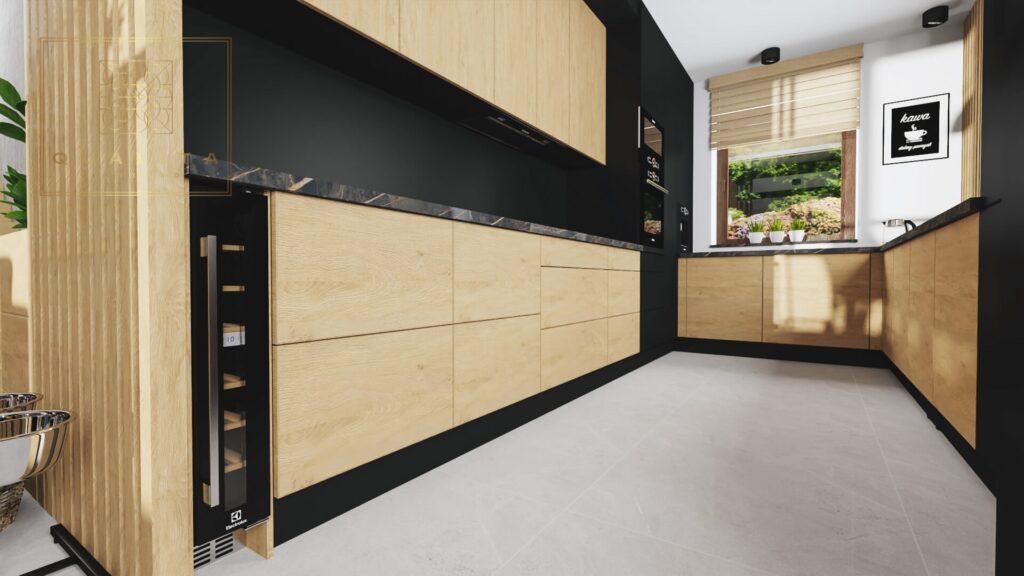 Qualita Interno Nowoczesna kuchnia zdjęcia projektant kuchni online Pomorskie
