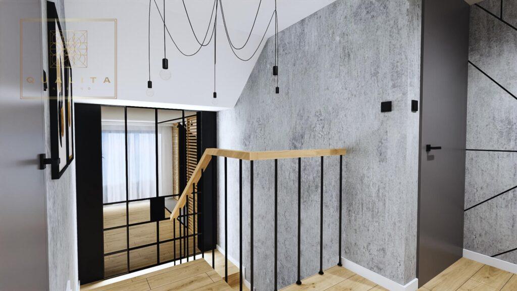 Qualita Interno Nowoczesne i modne projekty klatki schodowej Jak urządzić klatkę schodową zdjęcia