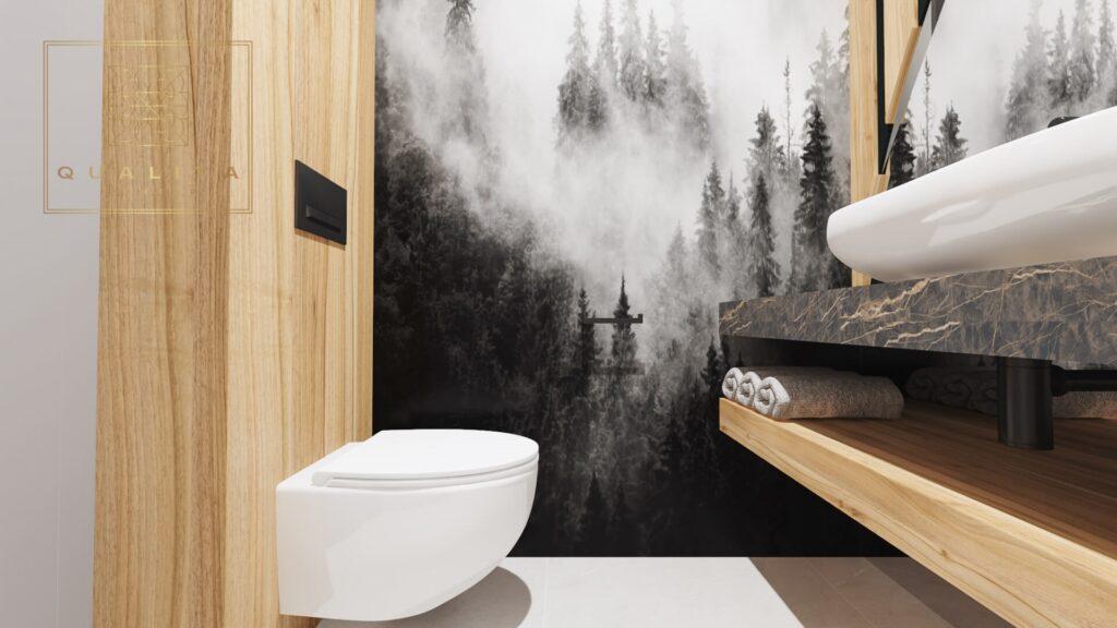 Qualita Interno Nowoczesny projekt łazienki Trójmiasto Gdańsk Gdynia
