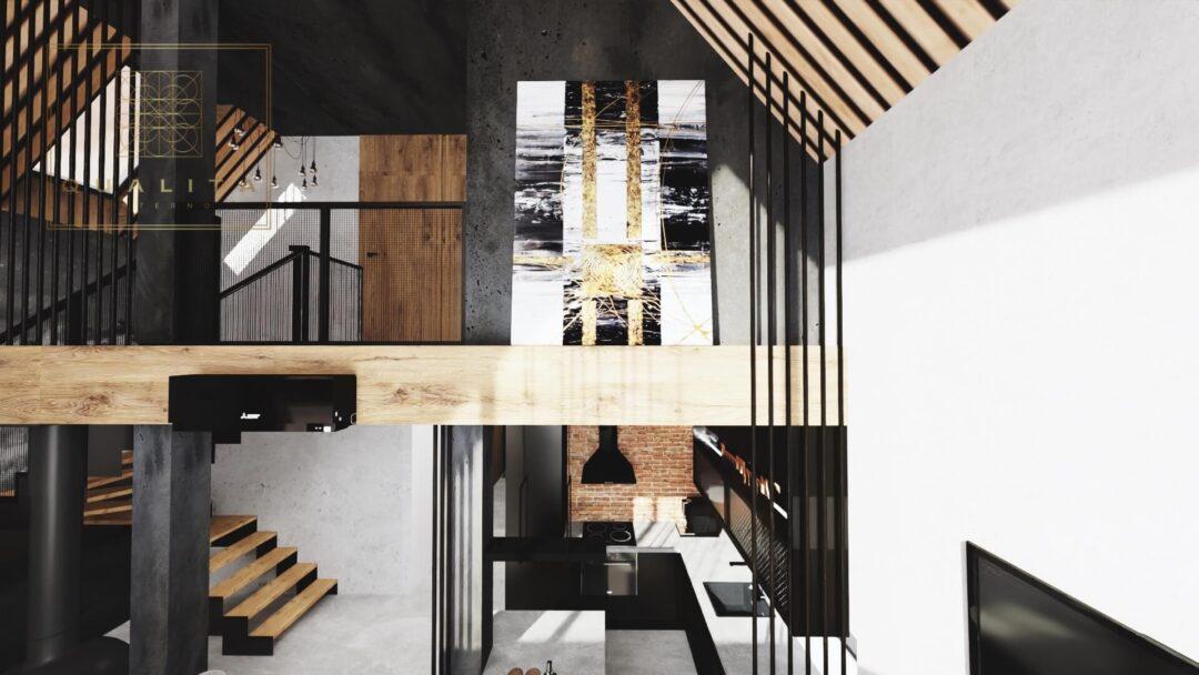 Qualita Interno Projektant domów typu nowoczesna stodoła