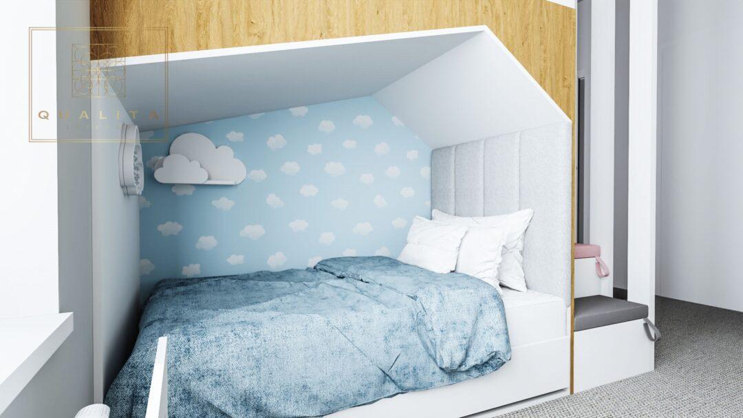 Qualita Interno Projektant pokoi dla dziewczynek