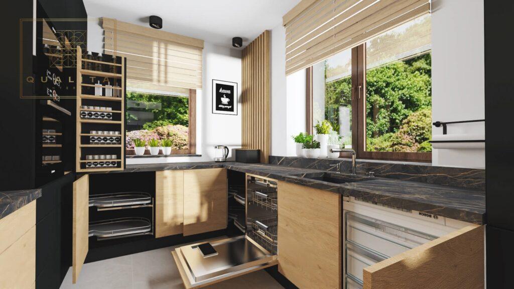 Qualita Interno Projektowanie nowoczesnych kuchni online tani architekt wnętrz