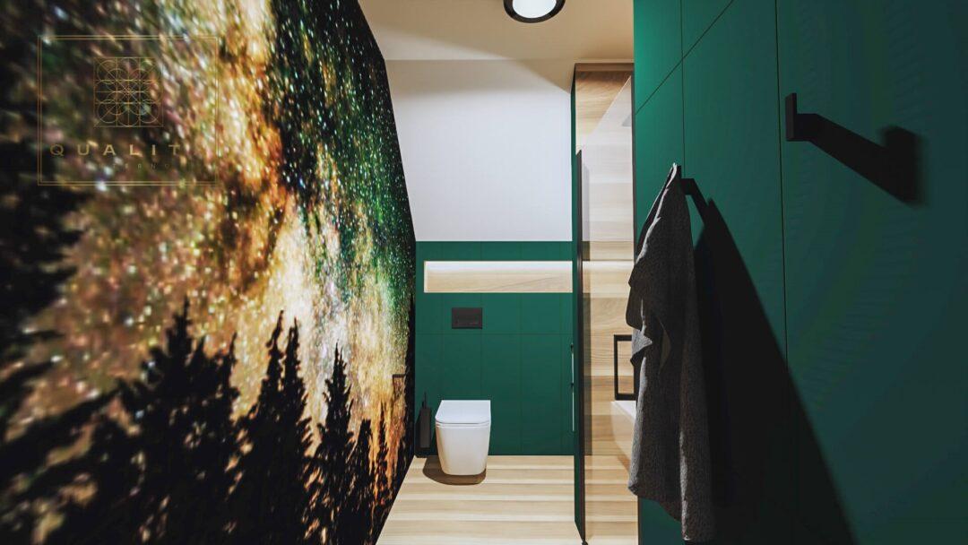 Qualita Interno nowoczesna fototapeta do łazienki