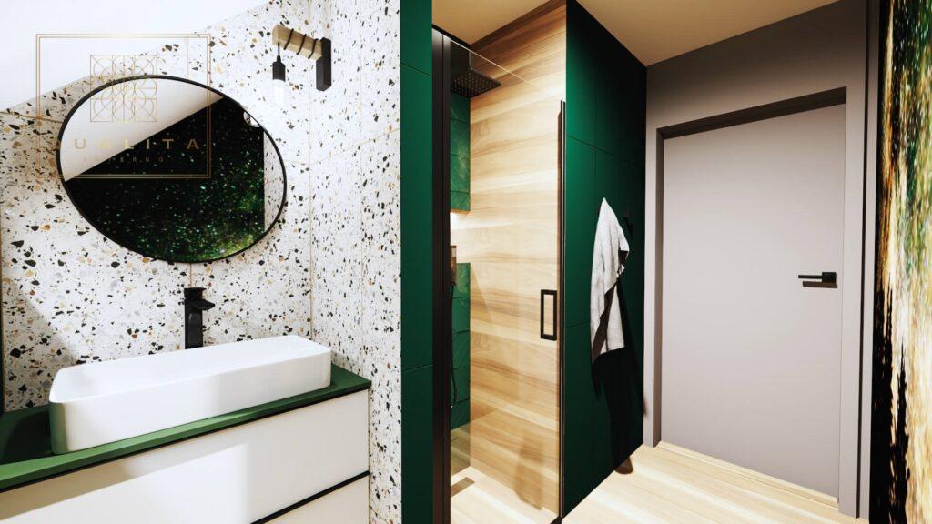 Qualita Interno płytki Lastryko nowoczesne projekty łazienek