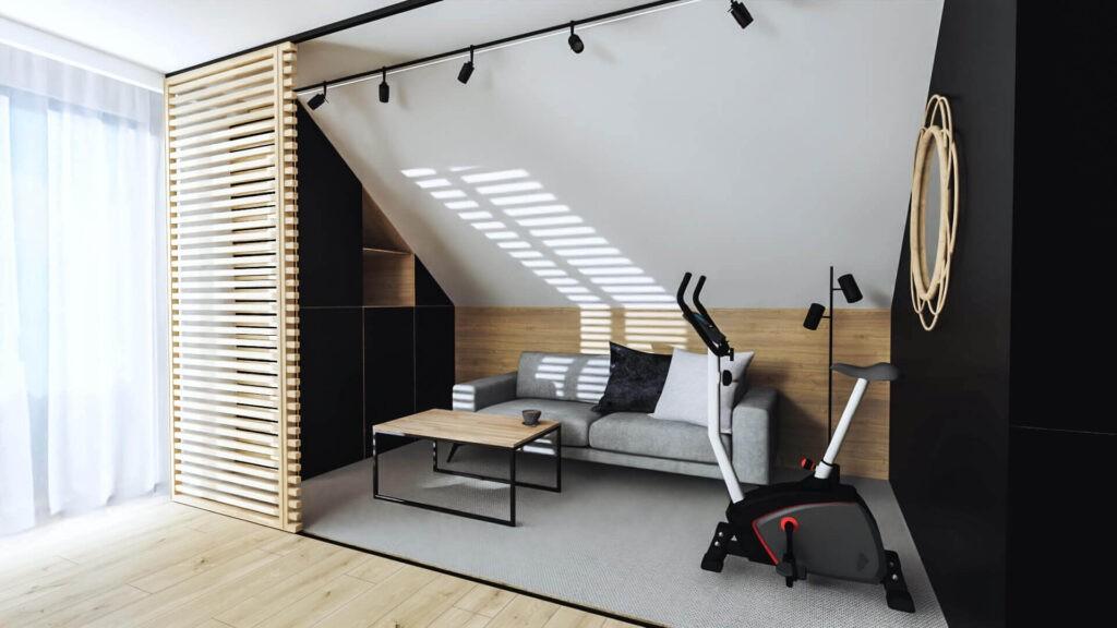 Qualita Interno projektowanie gabinetów domowych online