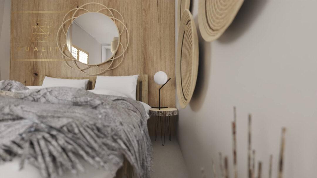Qualita Interno projekty małych sypialni online