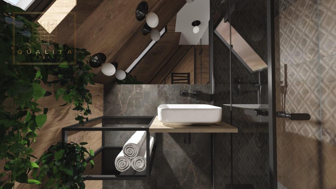 Qualita Interno tani indywidualny projekt łazienki