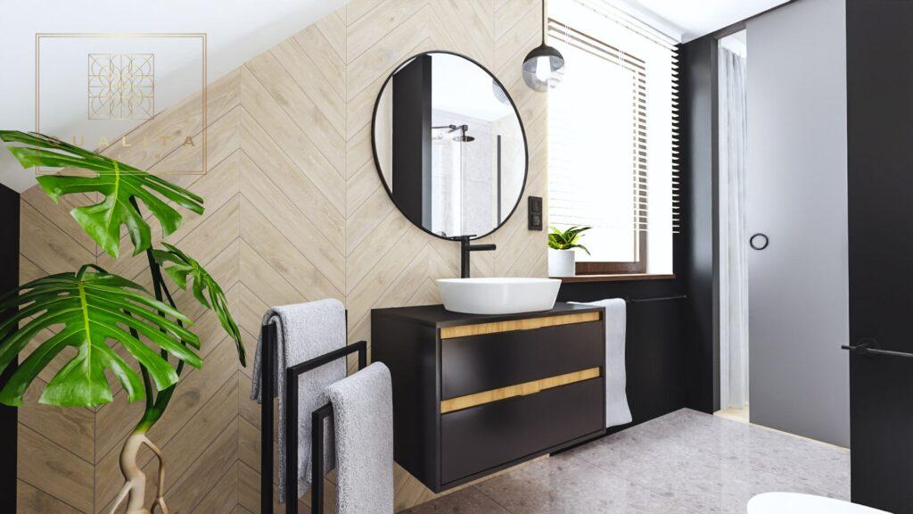Qualita Nowoczesna łazienka online aranżacje inspiracje