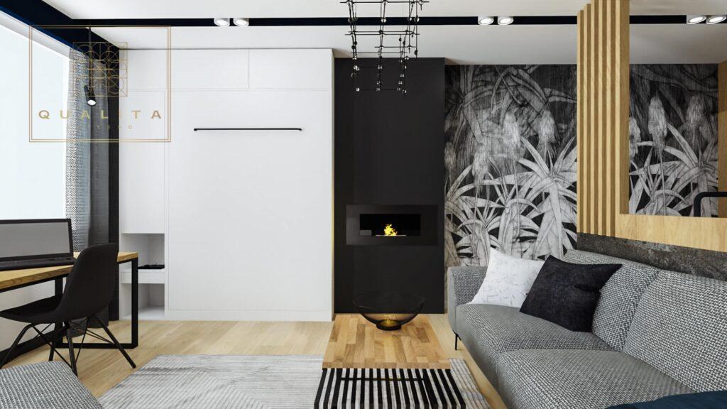 Małe mieszkanie dla singla