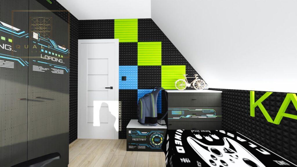 Qualita_Interno_Nowoczesne pokoje młodzieżowe dla chłopców