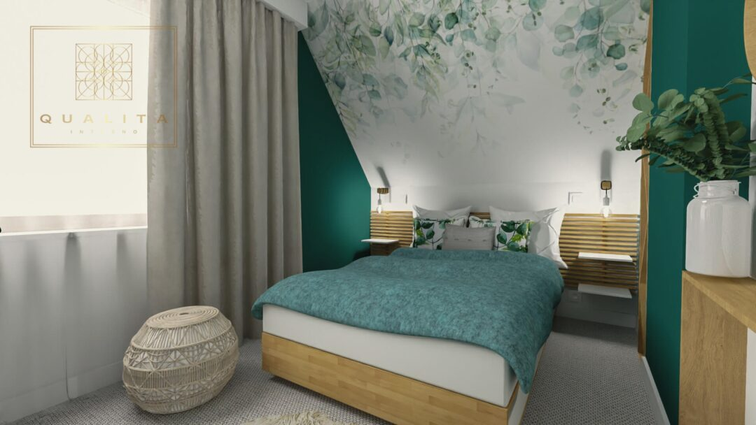Qualita_Interno_łóżko ikea w sypialni aranżacje inspiracje projekty