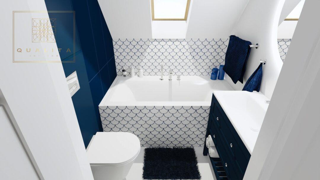 Qualita_Interno_projektant_łazienek_Trójmiasto_Pomorskie nowoczesne aranżacje małych łazienek 2021